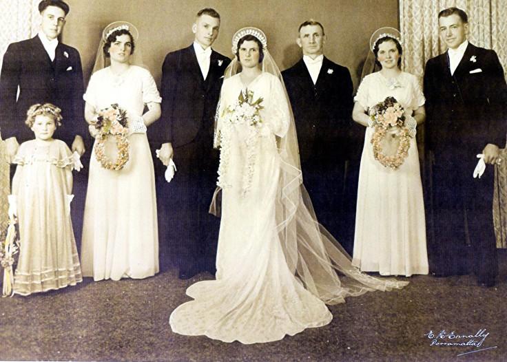 The Di Salvia Bridal Party