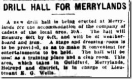 Drill Hall Evening News 22 Jun 1914