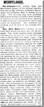 New Drill Hall 1914